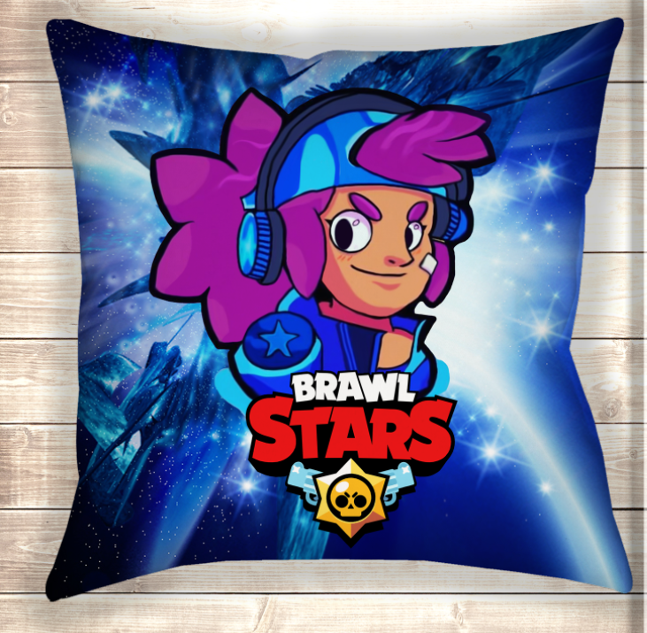 Подушка Shelly Stars Brawl Stars