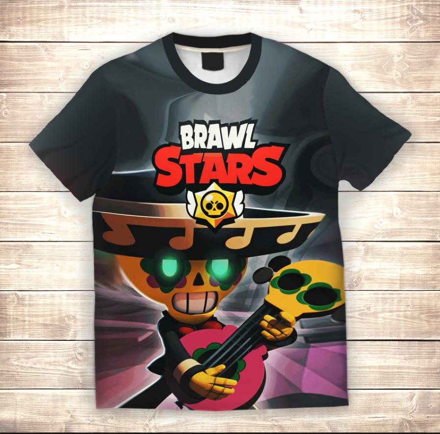 Футболка 3D дитяча Pokko Brawl Stars
