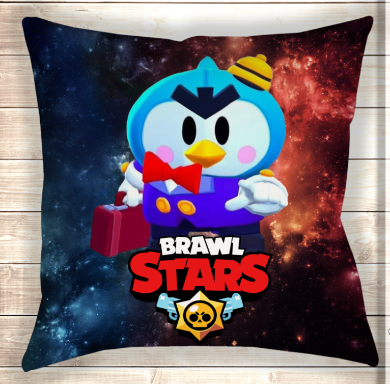 Подушка MR.P Brawl Stars