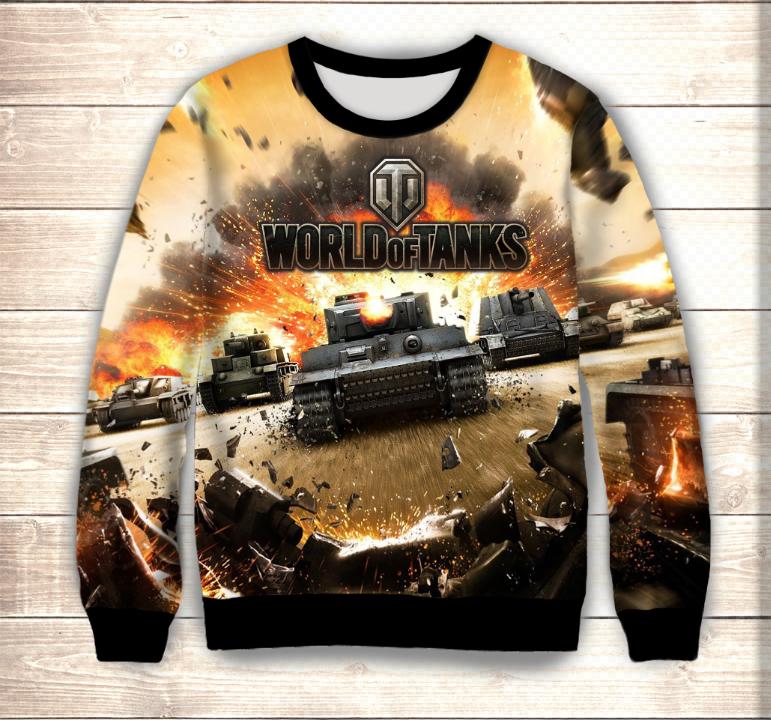 Свитшот World of tanks