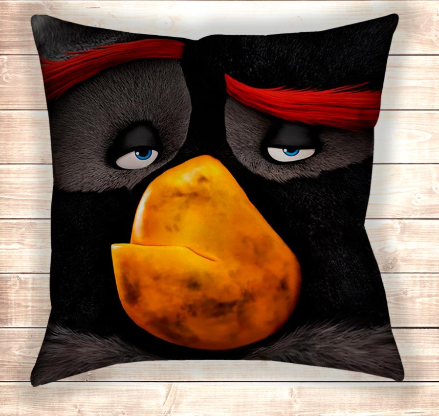 Подушка Angry Birds Bomb