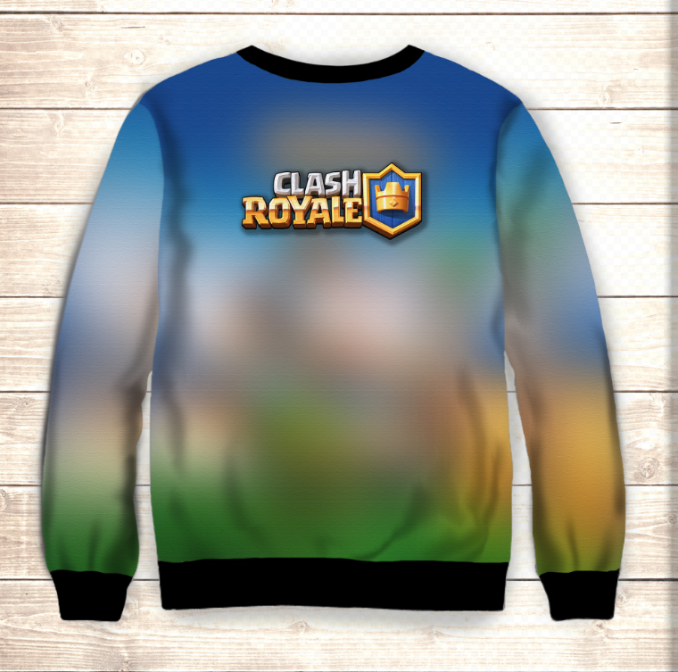 Свитшот Clash Royale Heroes