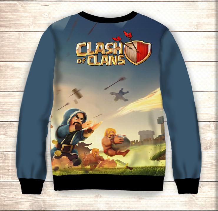 Свитшот Сlash of clans