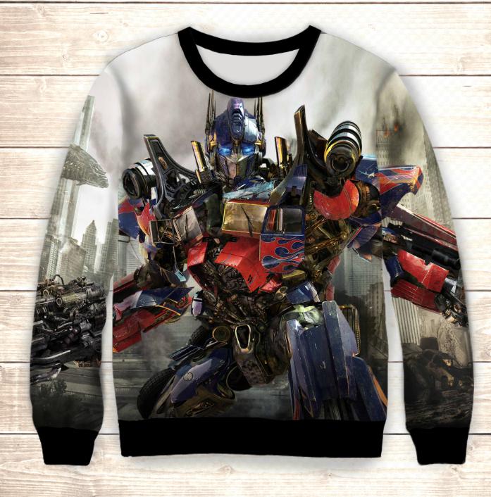 Свитшот Transformers in town Dragom / Свитшот Трансформеры Оптимус Прайм
