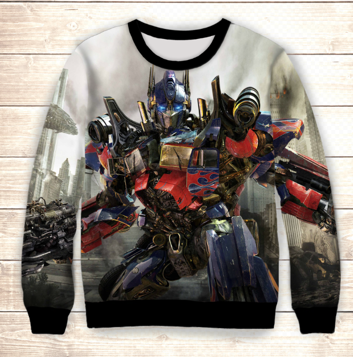 Світшот Transformers in town Dragom / Свитшот Трансформеры Оптимус Прайм