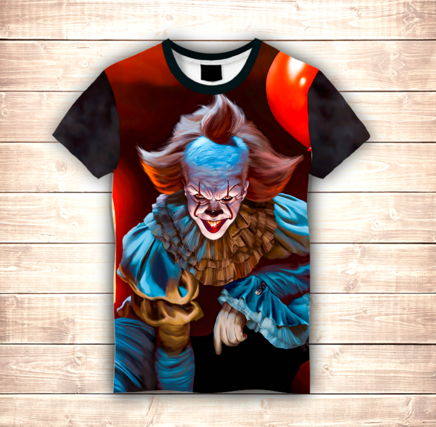 Футболка 3D Pennywise The dancing clown