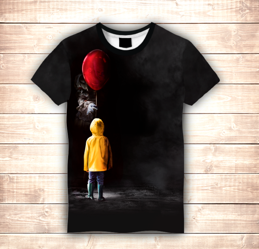 Футболка 3D Pennywise