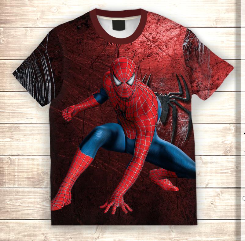 Футболка 3D Людина павук Спайдермен