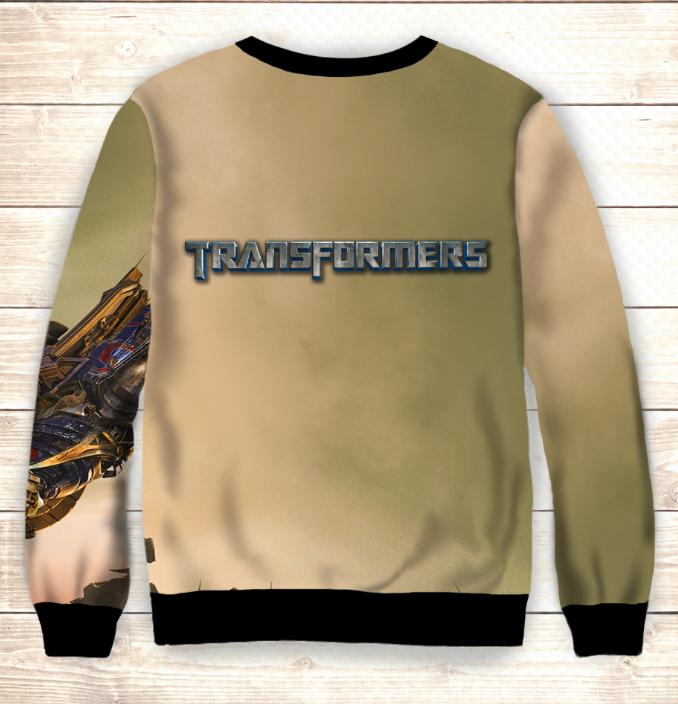 Свитшот Transformers Sunrise / Свитшот Трансформеры Оптимус прайм