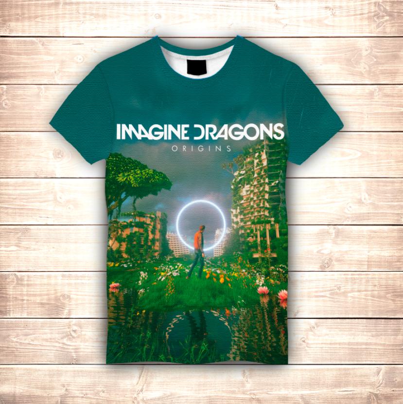 Футболка 3D Imagine Dragons Origins