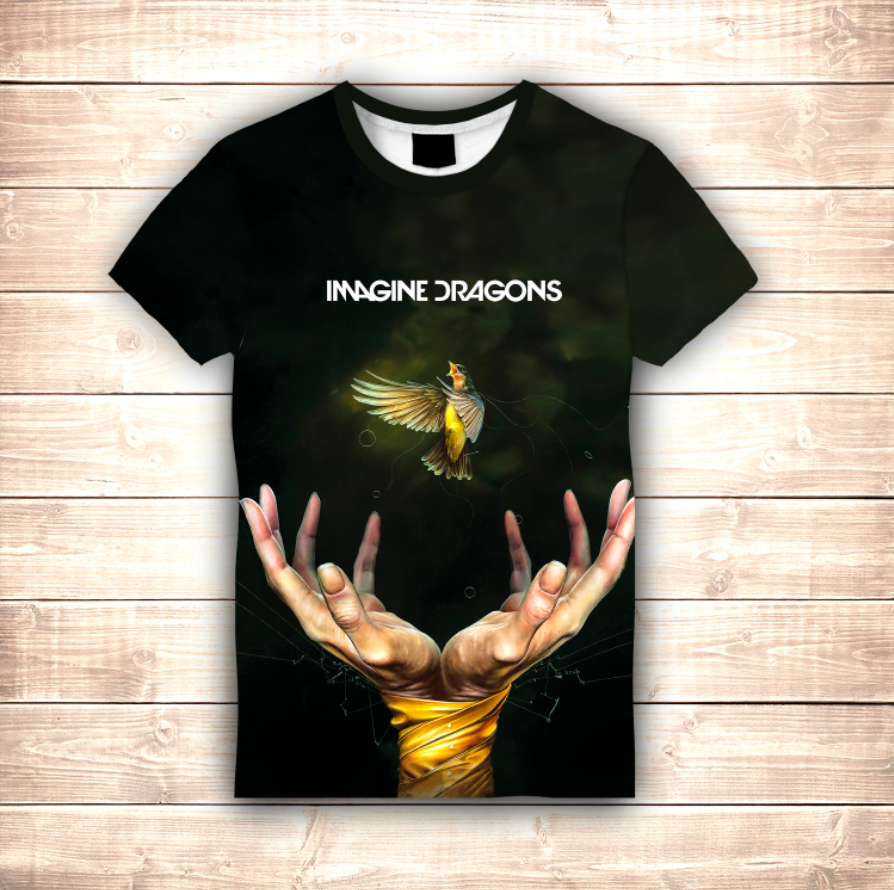 Футболка 3D Imagine Dragons Smoki and mirrors