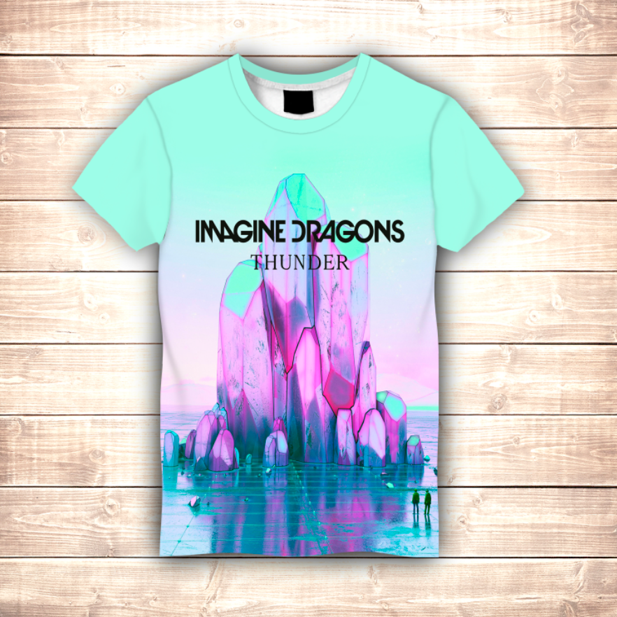 Футболка 3D Imagine Dragons THUNDER