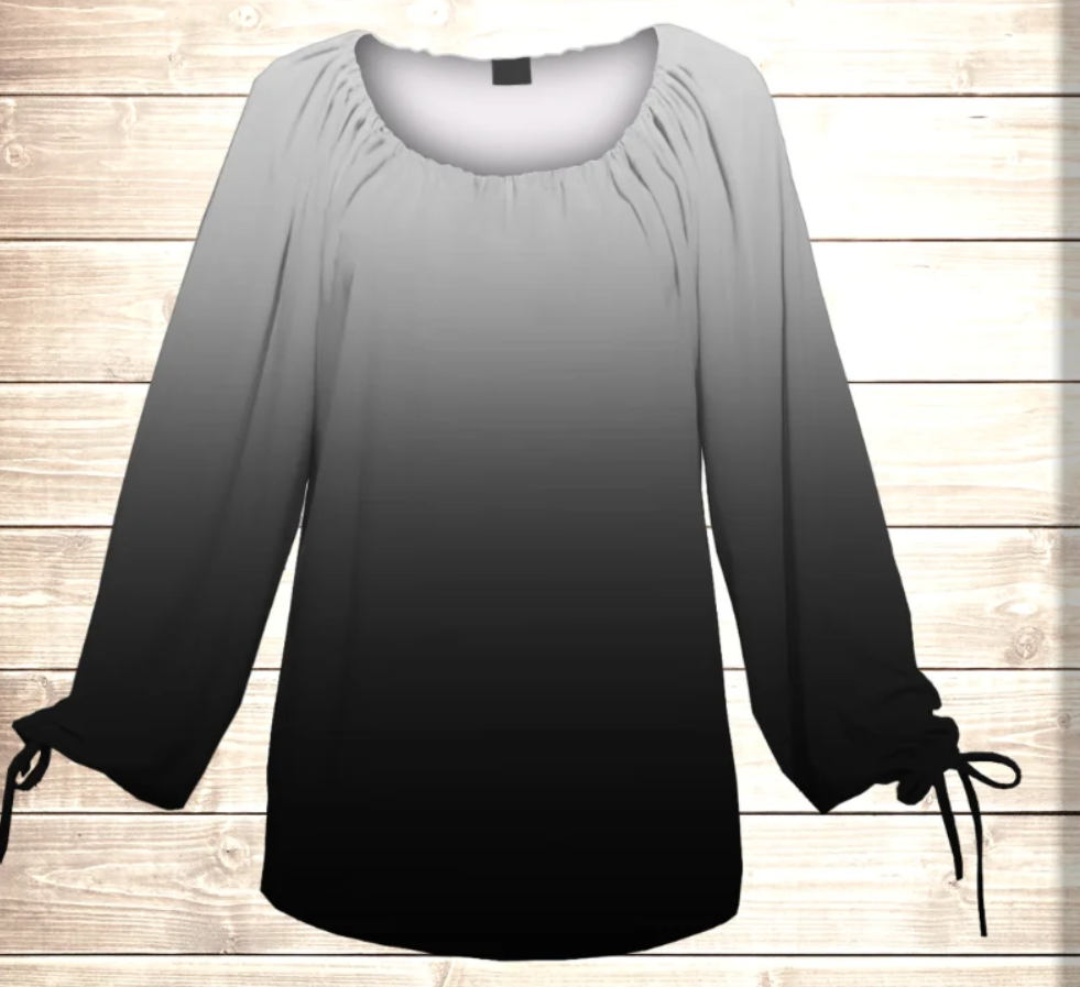 Блуза-туніка Carmen Ombre Колір таємниці