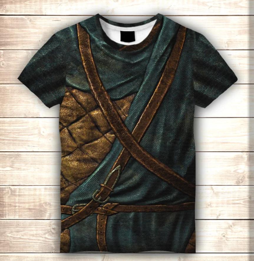 Футболка 3D Skyrim. Armour The Elder Scrolls