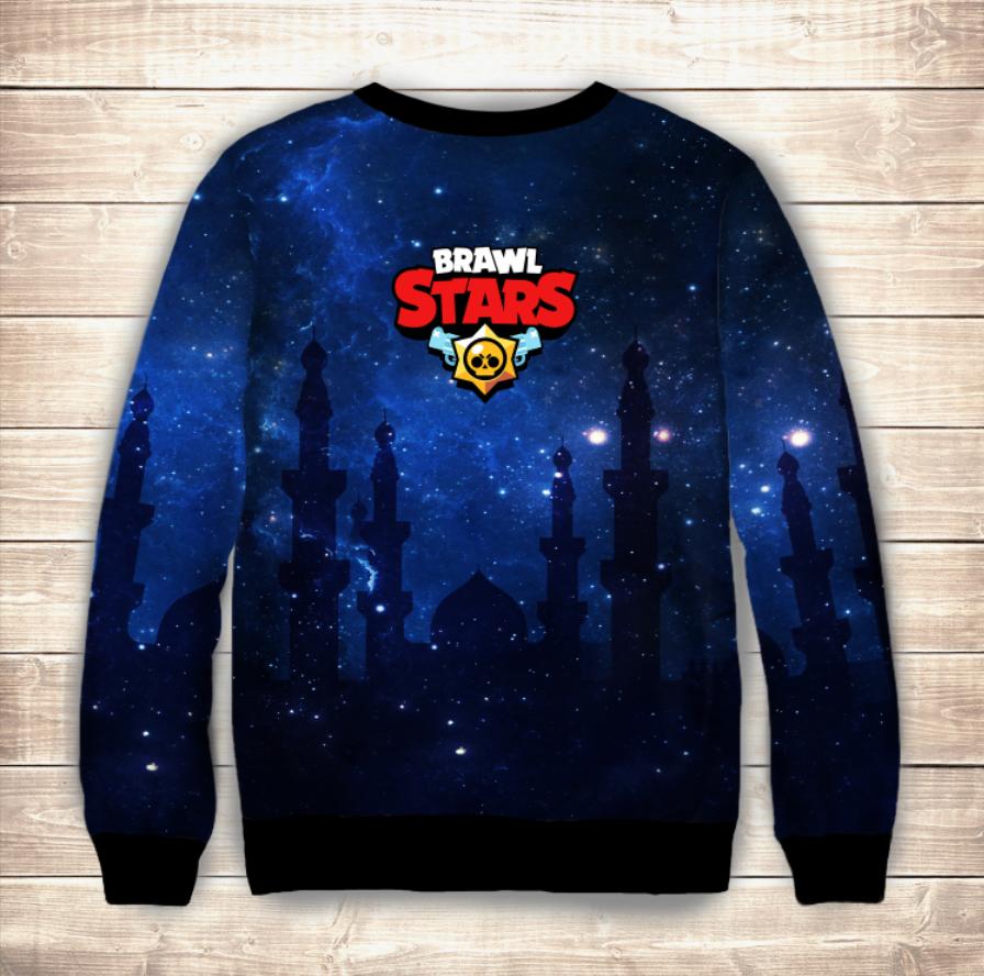 Світшот (толстовка) 3D Sendy / Сенди Brawl Stars