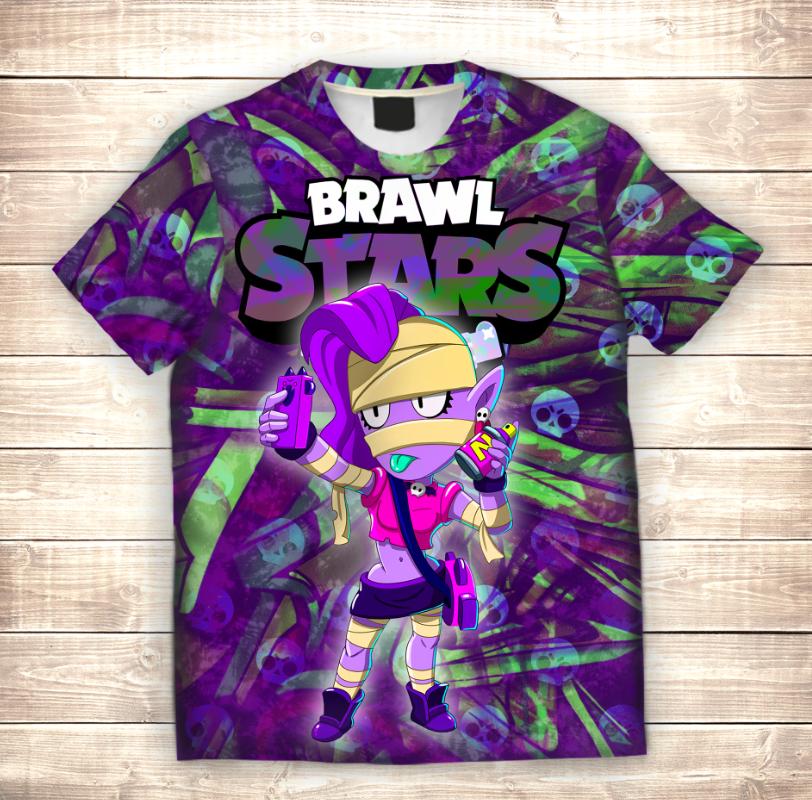Футболка 3D дитяча Емз / Emz Brawl Stars