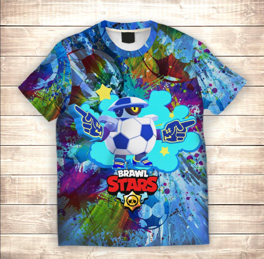 Футболка 3D дитяча Дерілл футбольний / Daryll Football