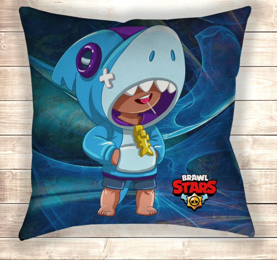 Подушка Leon Shark / Леон Акула  подушка