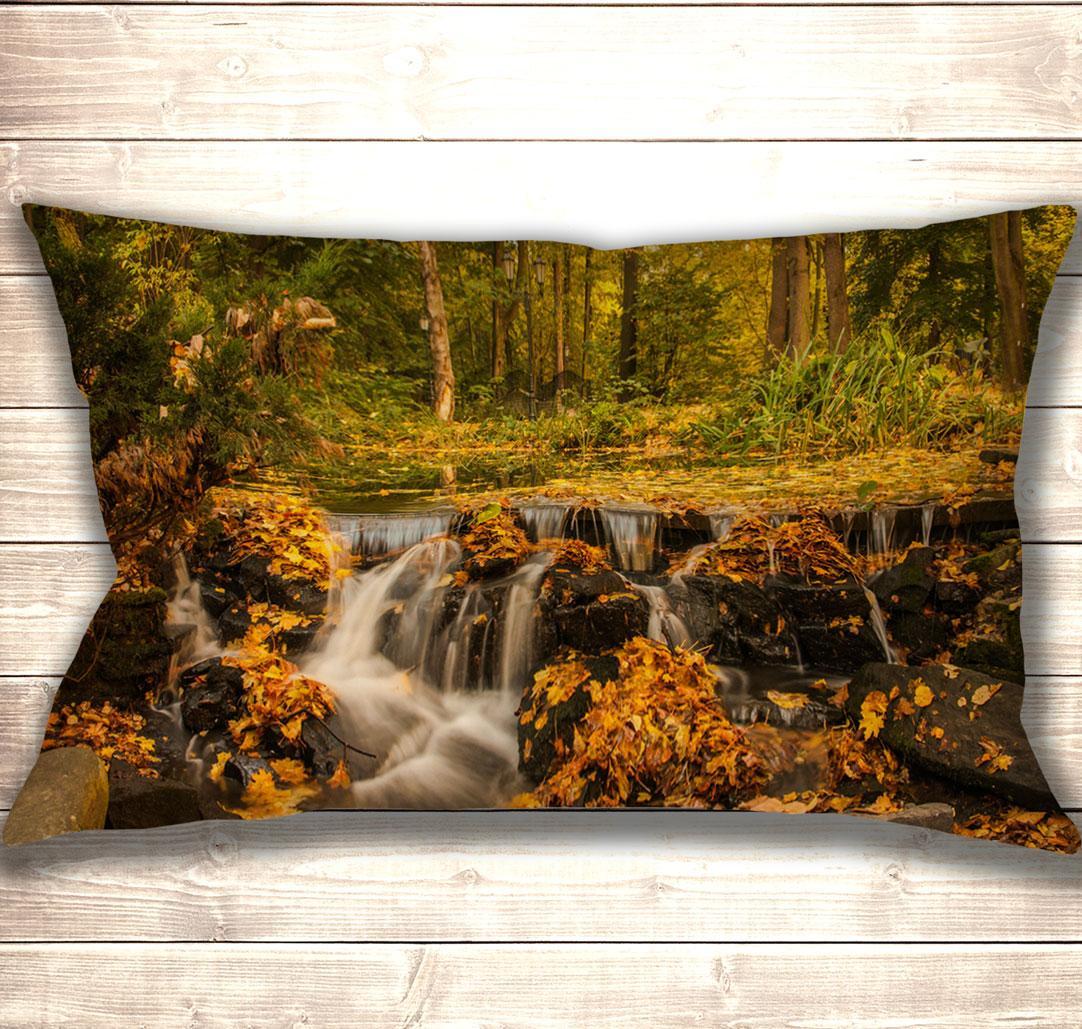 Подушка-картина Autumn Park 50х70см