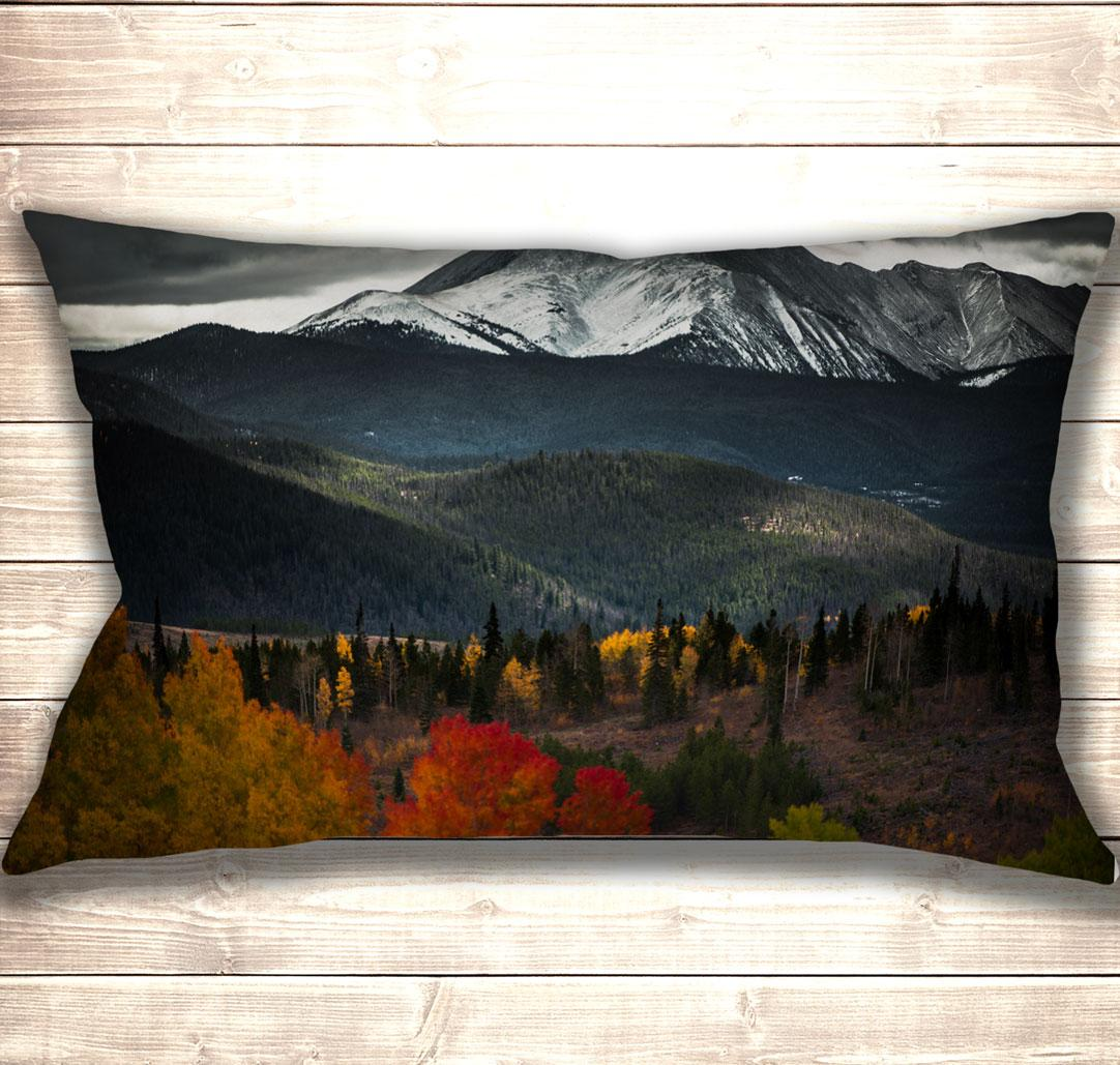 Подушка-картина Lonely Mountain Colorado 50х70см