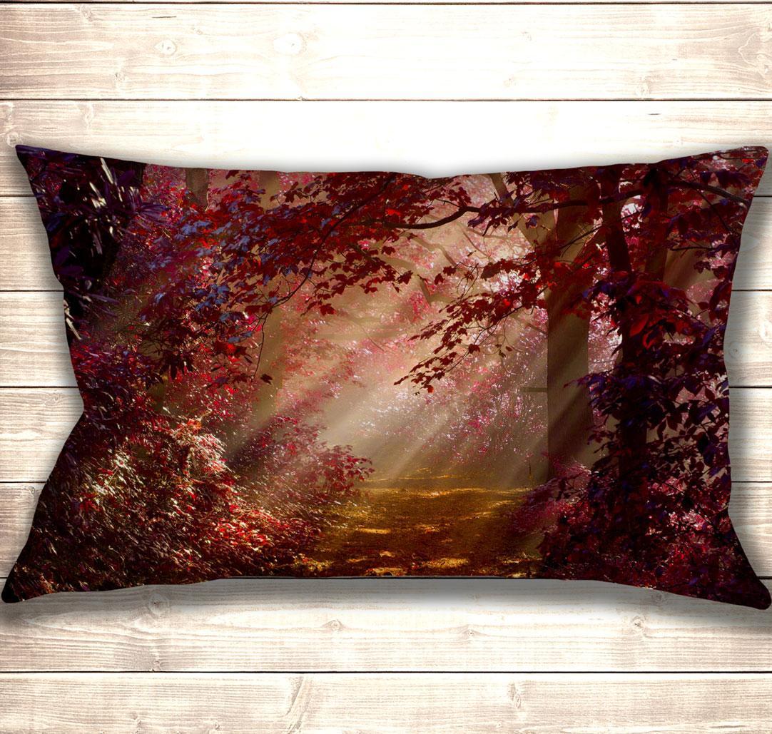 Подушка-картина Forest Road 50х70см
