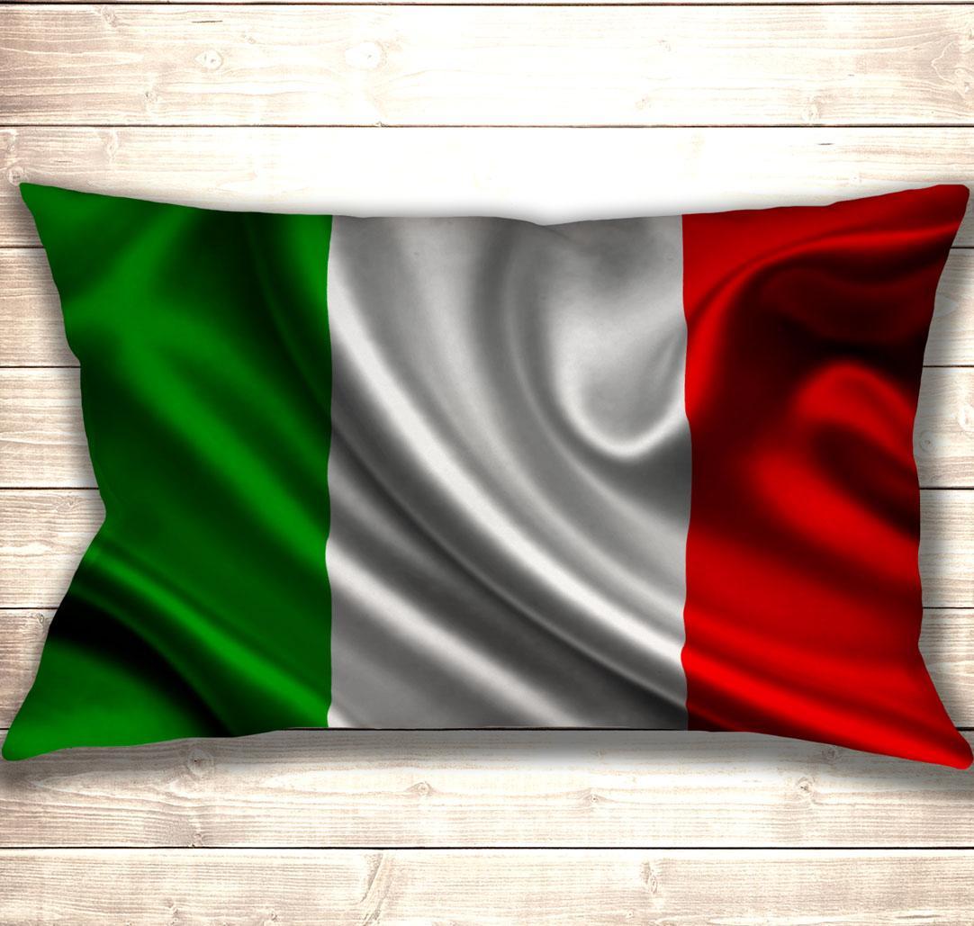 Подушка-картина Flag of Italy 50х70см