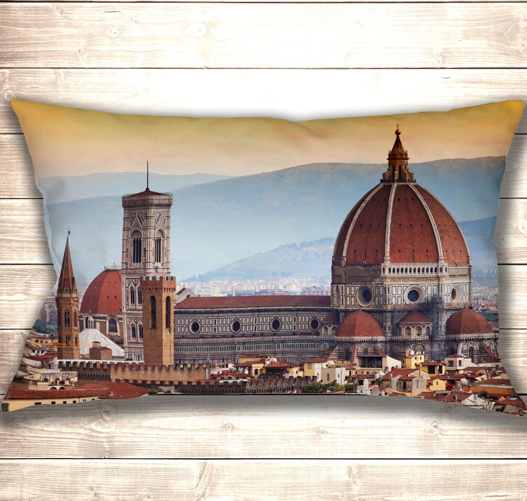 Подушка-картина Флоренція Санта-Марія-дель-Фйоре 50х70см