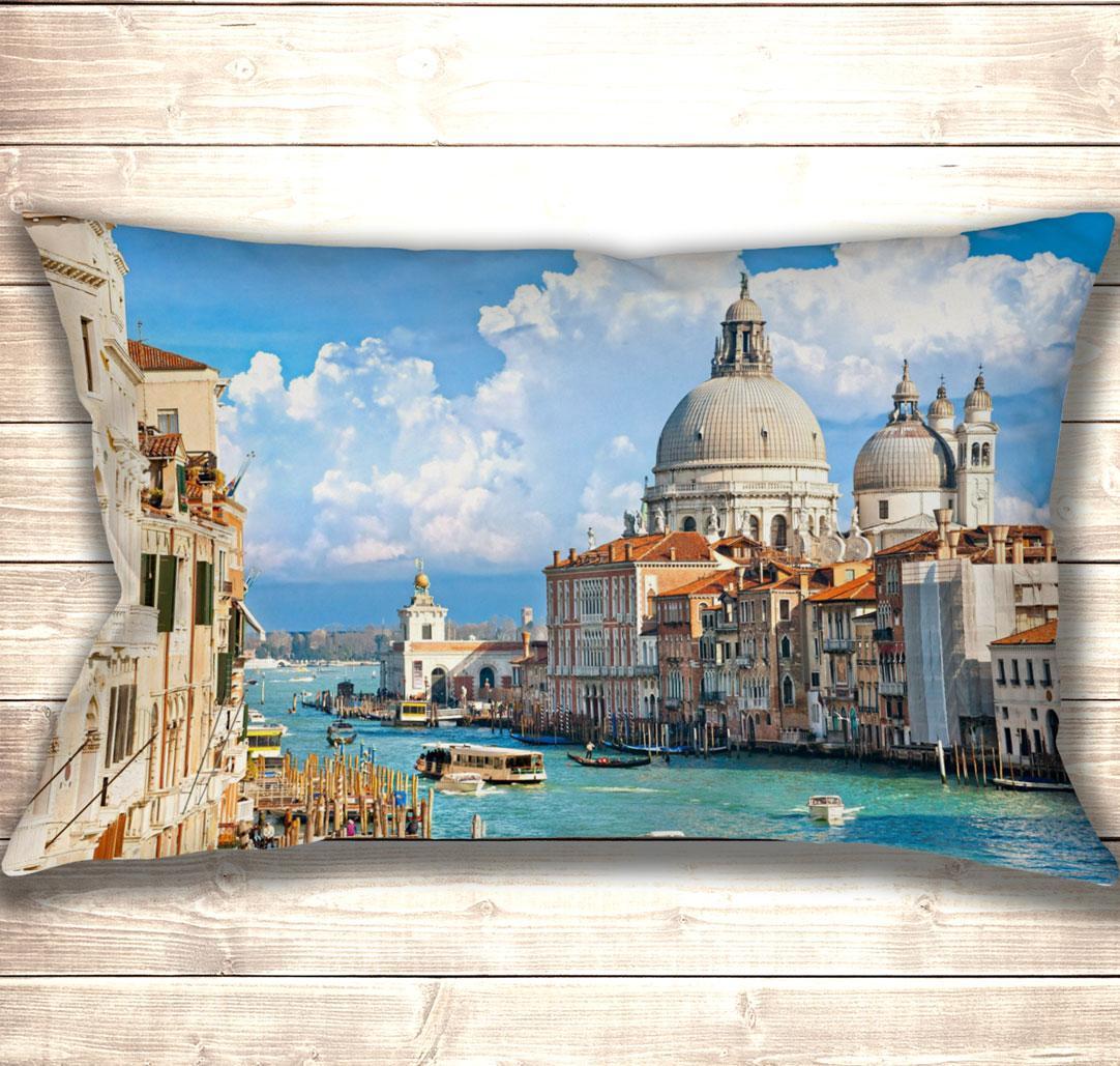 Подушка-картина Венеция Canal Grande 50х70см