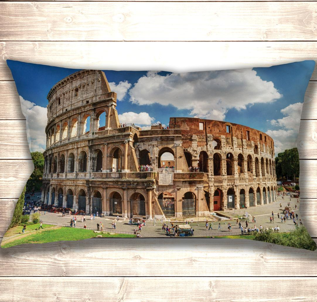 Подушка-картина Колизей в Риме 50х70см