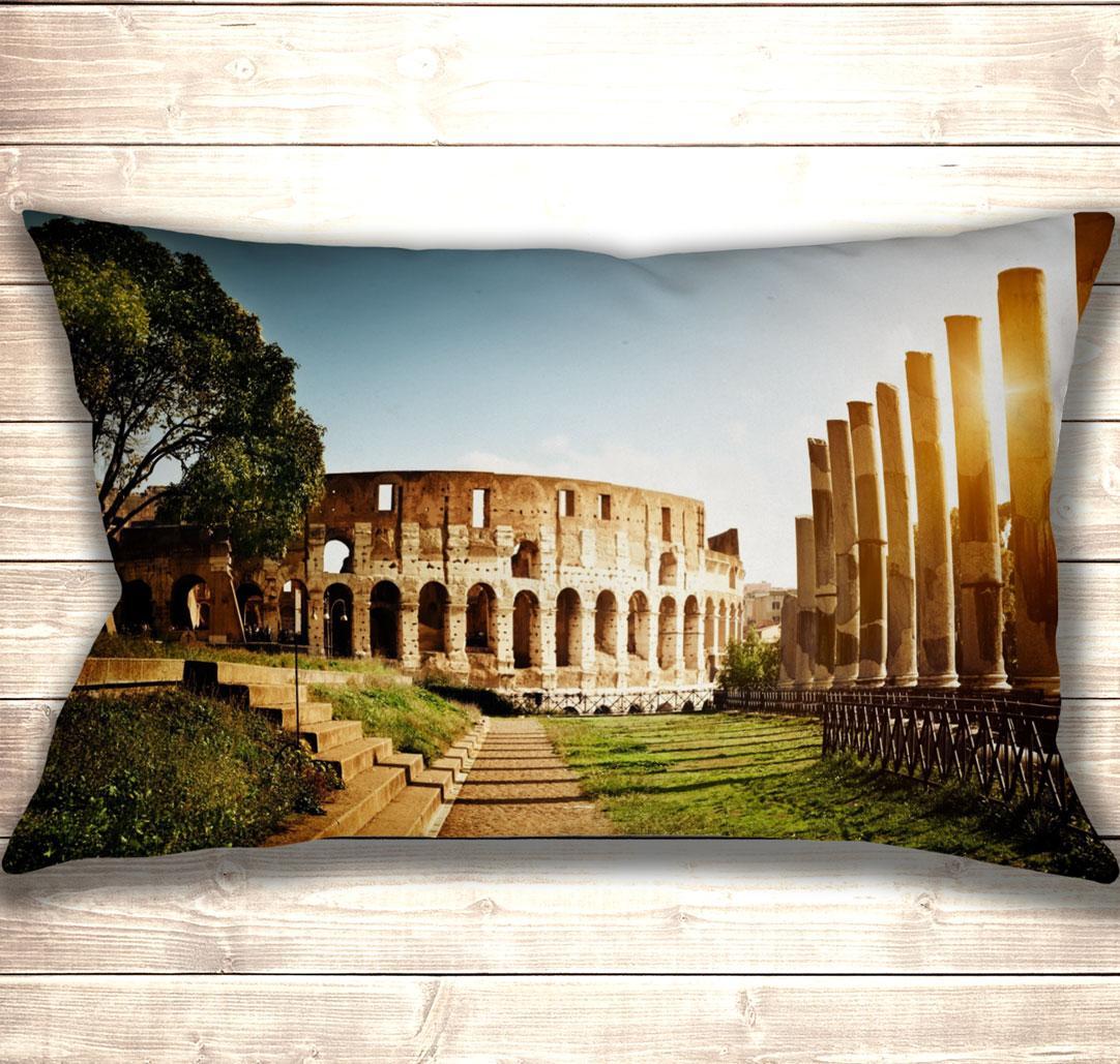 Подушка-картина Сонячний Колізей 50х70см
