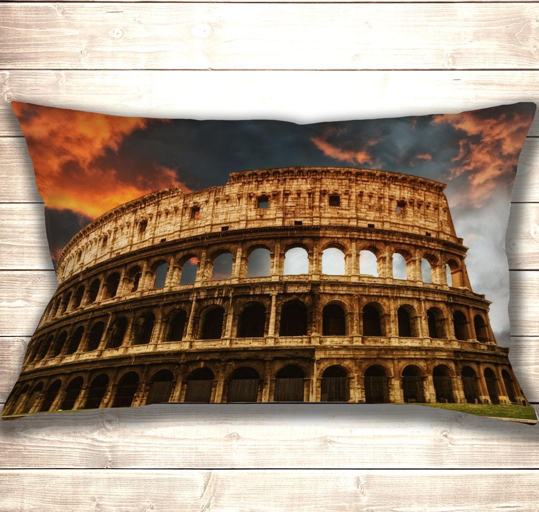 Подушка-картина Величний Колізей 50х70см