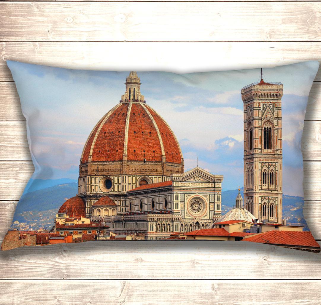 Подушка-картина Cathedral of Santa Maria del Fiore 50х70см