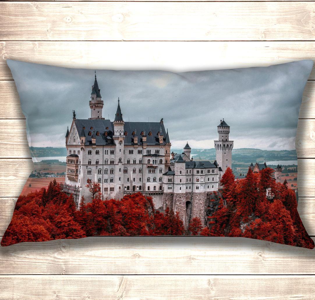 Подушка-картина Neuschwanstein Castle 50х70см