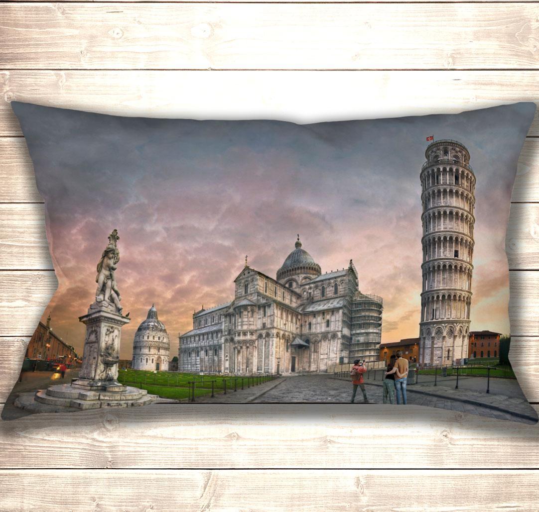 Подушка-картина Piazza dei Miracoli 50х70см