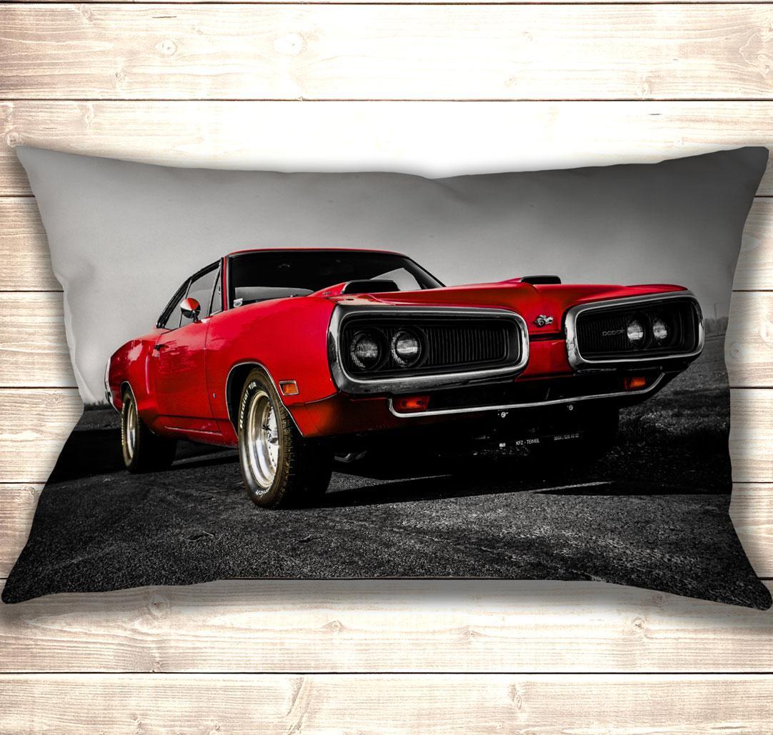 Подушка-картина Red Dodge 50х70см