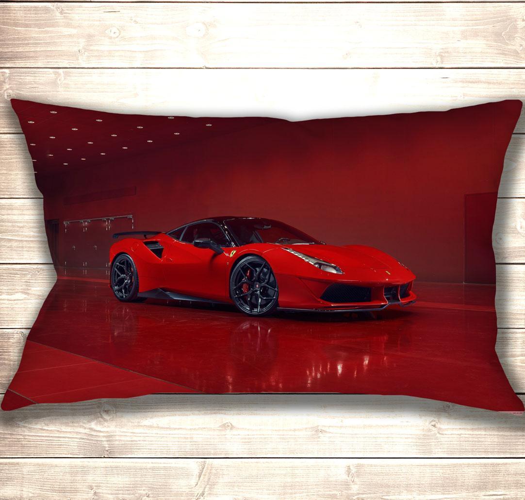 Подушка-картина Red Ferrari 50х70см