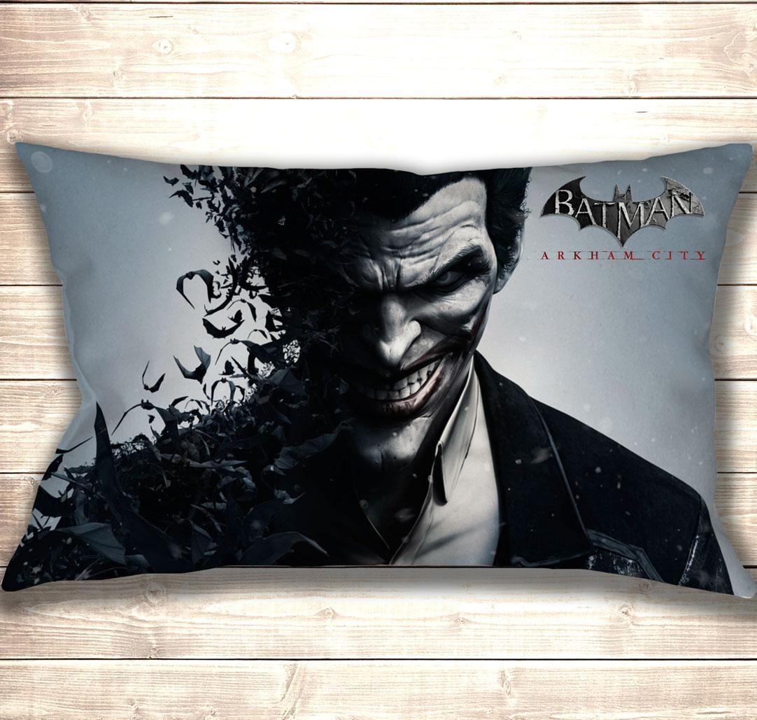 Подушка 3D Joker Batman Arkham City