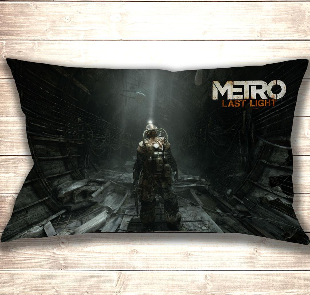 Подушка 3D Metro Last Light 50x70 см