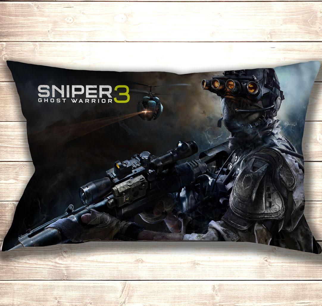 Подушка 3D Sniper 3 Ghost Warior 50x70 см