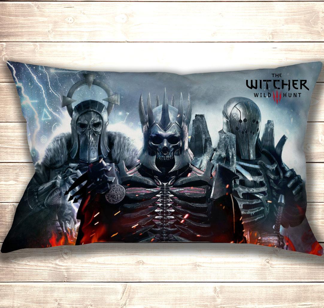 Подушка 3D Witcher 3 Wild Hunt 50x70 см