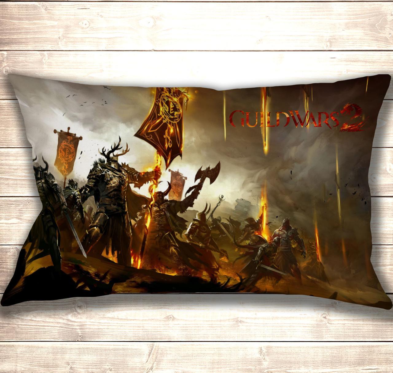 Подушка 3D Guild Wars 2 50x70 см