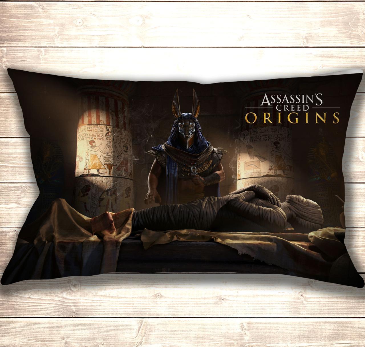 Подушка 3D Assasin's Creed Mummy 50x70 см