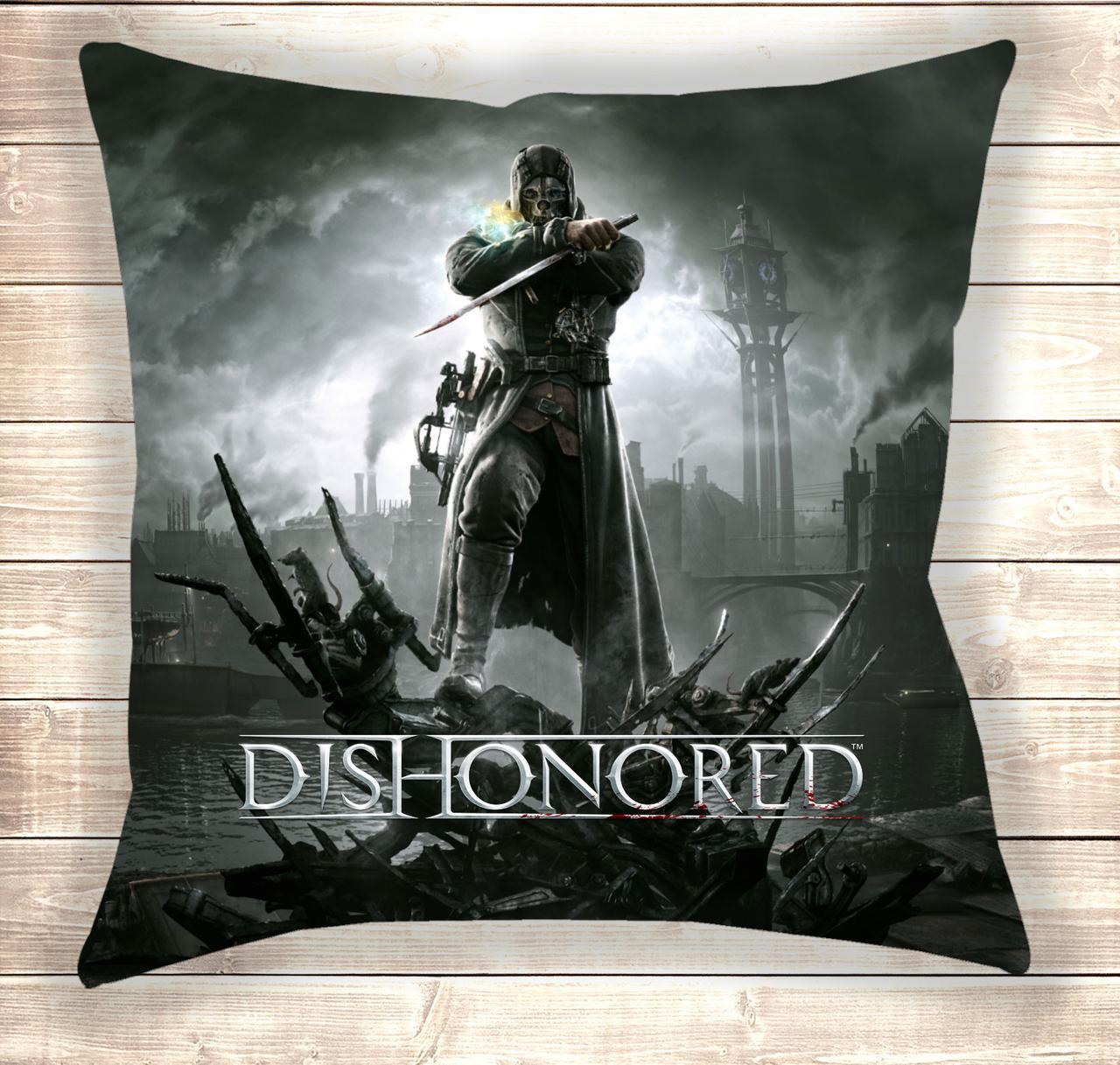 Подушка 3D Dishonored