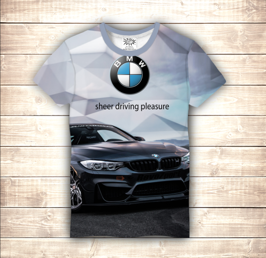 Футболка 3D BMW - 2