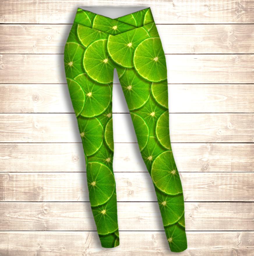 Лосини 3D - green lime