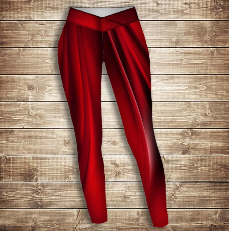 Лосини 3D - red queen