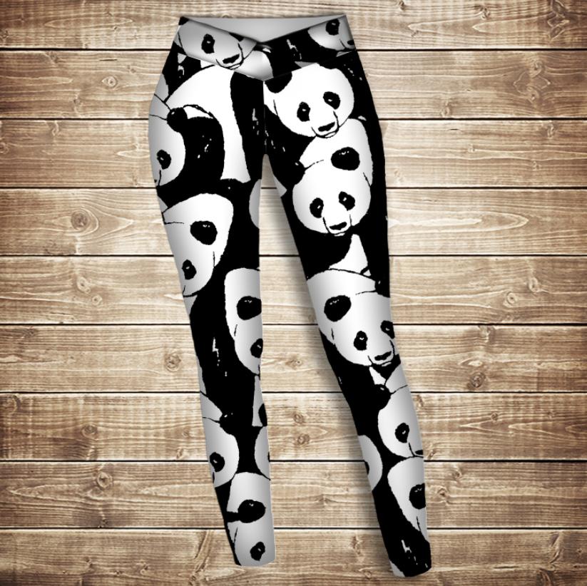 Лосини 3D - Світ панд