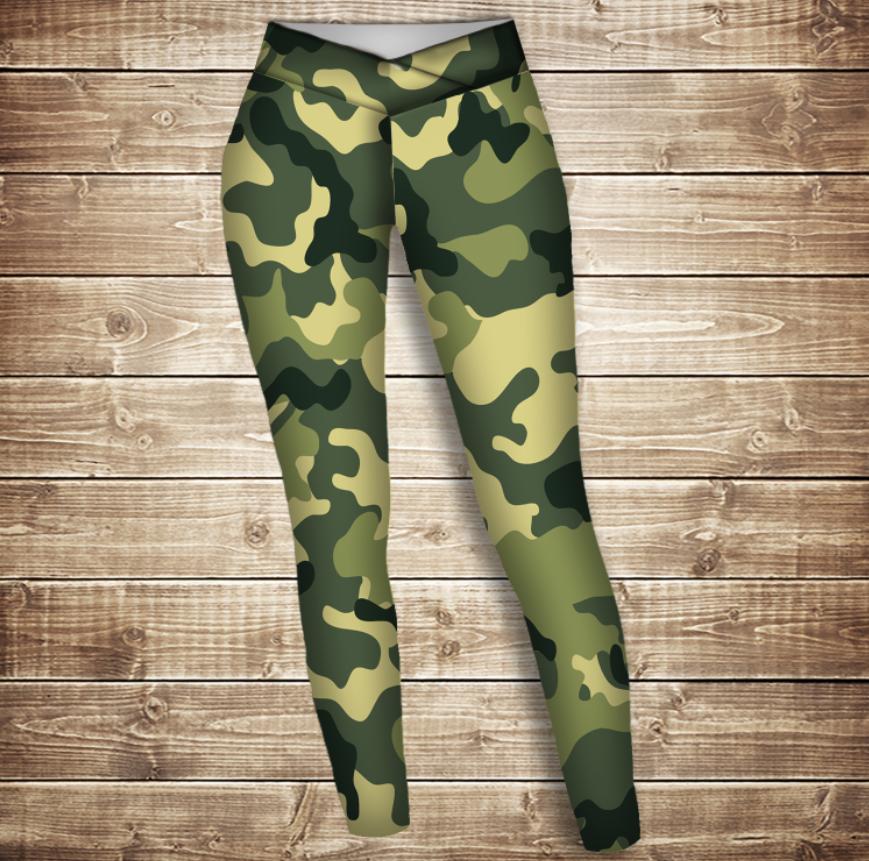 Лосини 3D -  camuflage classic