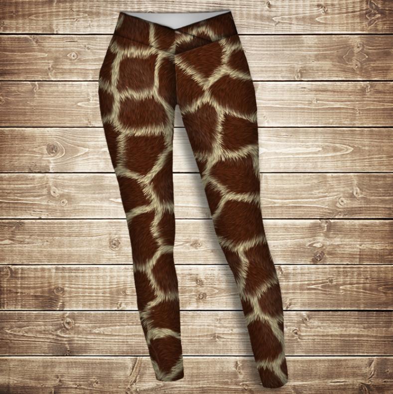 Лосини 3D -  Жирафа
