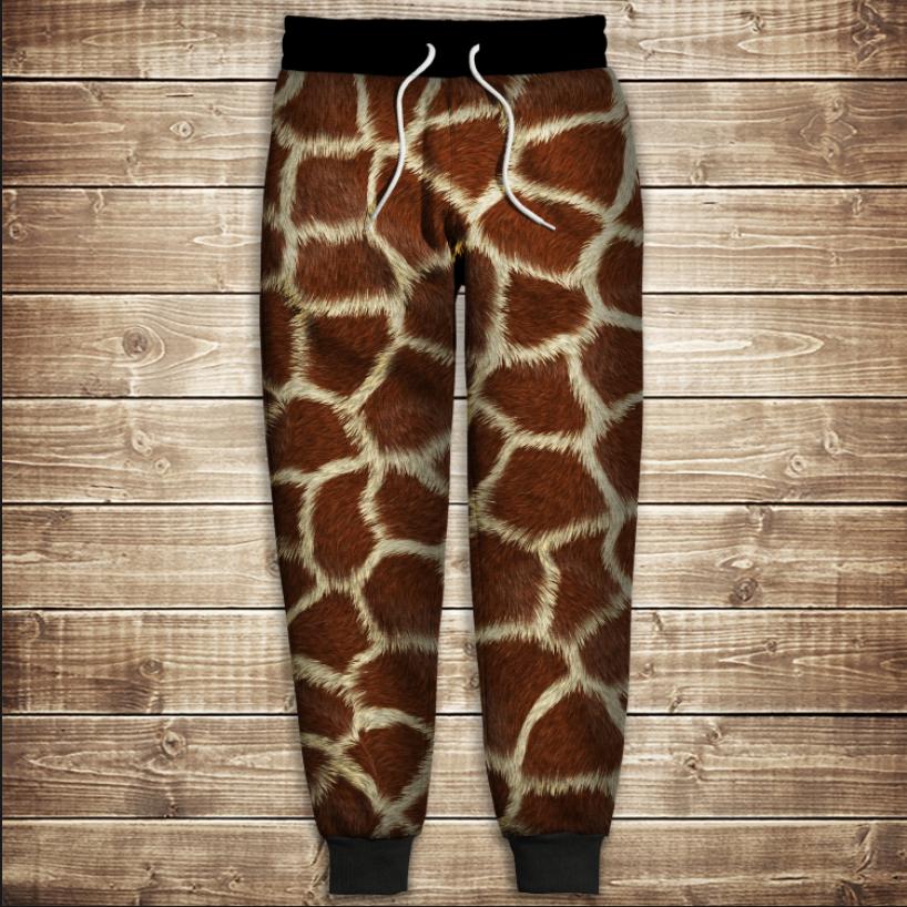 Штани 3D - Жирафа
